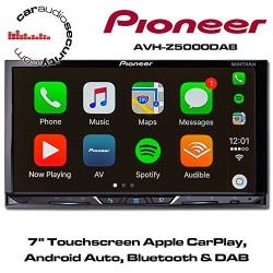 Pioneer Car Multimedia AVH-Z5000DAB Auto Radio Vidéo DAB Noir
