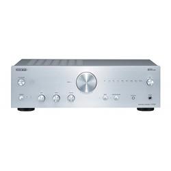 Onkyo A-9150-S–Amplificateur audio (avec steréo intégré, 2canaux, 75W Par canal) couleur argent 4573211152944 Onkyo Amplis