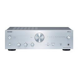 Onkyo A-9150-S–Amplificateur audio (avec steréo intégré, 2canaux, 75W Par canal) couleur argent
