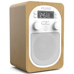 Pure Evoke H2 Radio Chêne - Radio numérique et FM élégante et compacte Imagination Radio