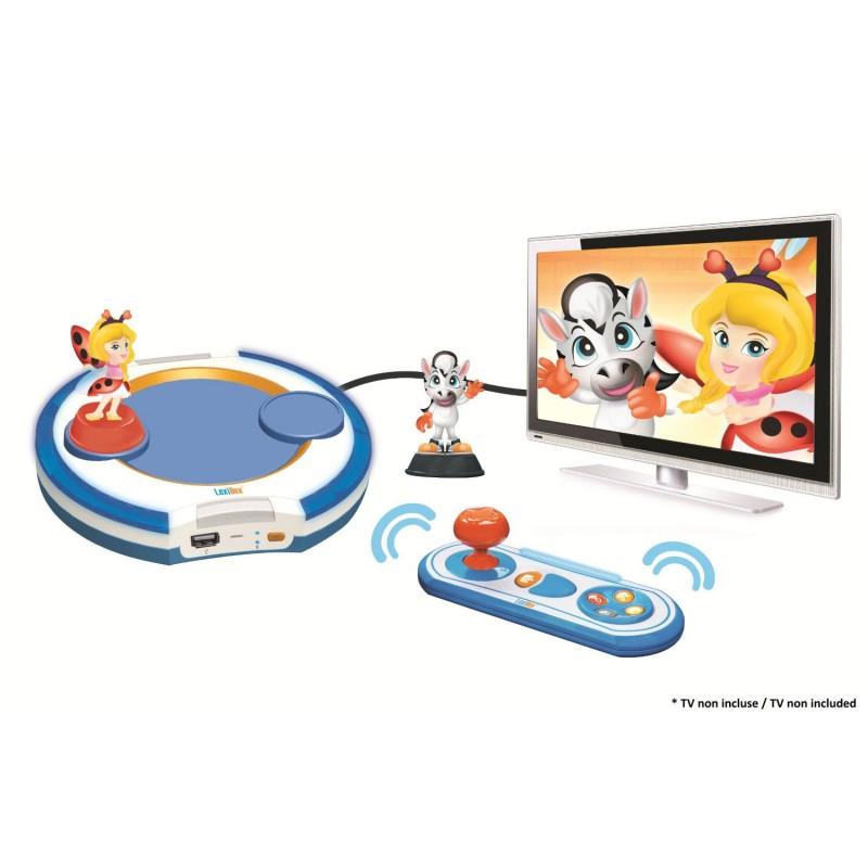 Lexibook lbox100fr jeu electronique ma premi re console de jeux interactive - Console de jeux lexibook ...