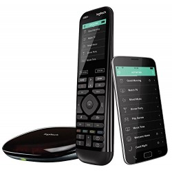 LOGITECH Télécommandes Logitech Harmony Elite Télécommande Universelle 11 à 15 Ecran LCD 5099206060531