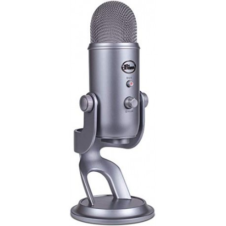 Blue Microphones - Microphone USB Yeti Zone Space Grey Edition , Space Gris