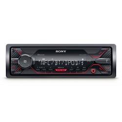 Sony DSX-A410BT connecteur MP3Autoradio avec Bluetooth, NFC, USB, AUX et iPod/iPhone Control Rouge Éclairage SONY Autoradios