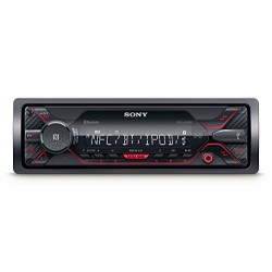 Sony dsxa41 0bt connecteur MP3 Autoradio avec Bluetooth, NFC, USB, AUX et iPod/iPhone Control Rouge Éclairage