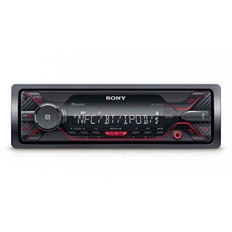 Sony dsxa410bt connecteur MP3Autoradio avec Bluetooth, NFC, USB, AUX et iPod/iPhone Control Rouge Éclairage