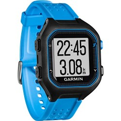 Garmin Forerunner 25 - Montre de Running Connectée - Taille L - Noir et Bleu