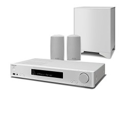 ONKYO LS5200B 2.1canaux 170W Blanc Système Home Cinema - Systèmes Home cinéma (CD, 2.1 canaux, 170 W, DTS 96/24,DTS-HD HR,DTS-HD