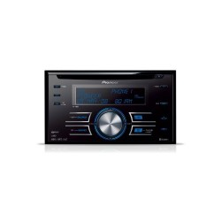 Pioneer FH-P 80 BT - kit mains libres - CD - 4 x 50 watts - Tuner Bluetooth Double-Din avec port USB et iPod Direct Control