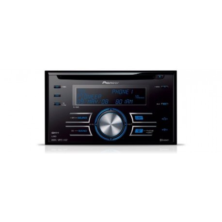 Pioneer FH-P 80 BT Autoradio CD - Tuner Bluetooth Double-Din avec port USB et iPod Direct Control
