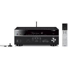 Yamaha ARXV683BL Amplificateur de Home Cinéma pour Smartphone/Tablette Noir/Titane