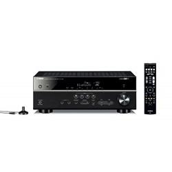 Yamaha RX-V481 Amplificateur Home Cinéma 5.1 - ULTRA HD 4K - Bluetooth pour MusicCast, Noir