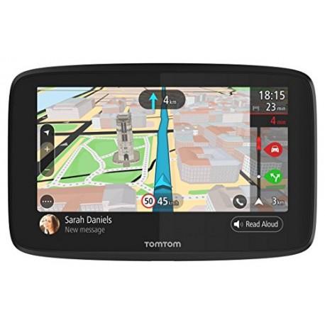 TomTom GO 620 (6 Pouces) - GPS Auto - Cartographie Monde, Trafic, Zones de Danger à Vie (via Smartphone) et Appel Mains-Libre...