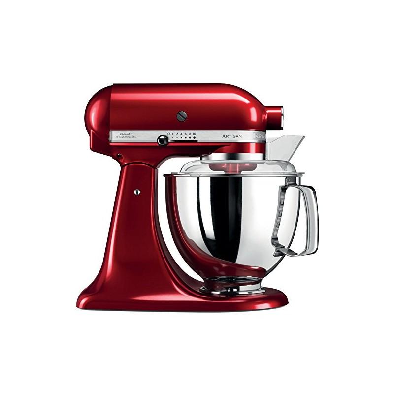 kitchenaid 5ksm175pseca artisan robot de cuisine professionnel avec accessoires rouge pomme d. Black Bedroom Furniture Sets. Home Design Ideas
