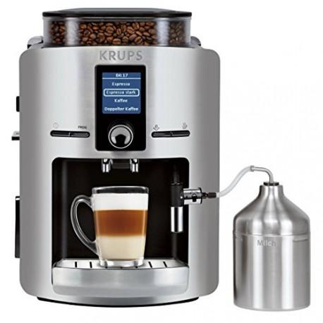 Krups - EA826E - (Numéro de l'article: EA826E10) - Machine à café automatique, 1450 watts, Argent