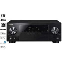 Pioneer VSX-323-K - 4K Ultra HD - 3D - Amplificateur Audio Vidéo Noir