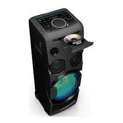 SONY MHC-V50D High Power - Mini chaîne 750 Watts - Lecteur CD et DVD - Bluetooth et NFC - Effets Lumineux - Equivalent du neuf
