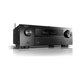 Denon AVRX1500H Récepteur AV 7.2 canaux (intégration HEOS, Amazon Alexa contrôle, Dolby Vision compatibilité, Dolby Atmos, dtsX,