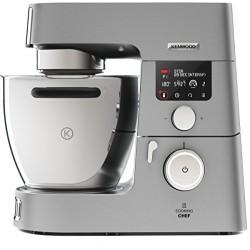 Kenwood KCC9040S Cooking Chef Gourmet Robot de Cuisine, 1500 W, Induction 20–180 °C, Capacité de 6,7 L, 1,6 L Thermoresist Mix E