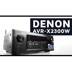 Denon AVR X2300 W -  7.2 Channel AV Network Receiver – 7 x 150 Watts - Bluetooth, Wifi et AirPlay