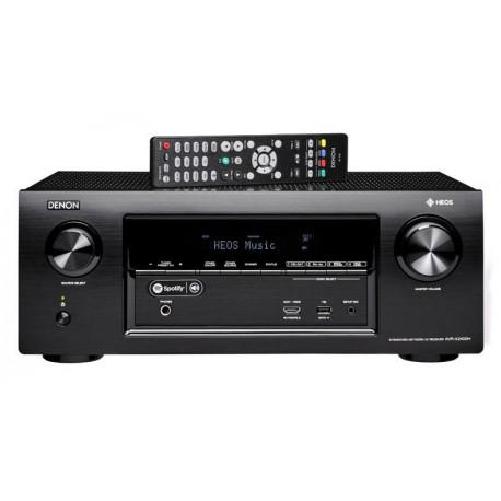 Denon avr-x2400h Hi-FI AV 7.24K/HDR/Dolby Atmos/HEOS sans Fil BK