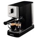 Krups XP344010 Machine à Café Calvi Pression 15 Bars Cafetière Expresso Thermoblock Buse Vapeur Espresso Chocolat Boissons Lacté