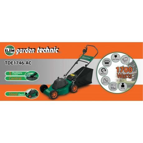Elem Garden Technic - TONDEUSE A GAZON 1700W - Garantie: 2 ans + Assistance technique SAV