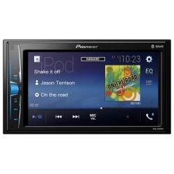 Pioneer MVH A200VBT -  Récepteur multimédia à écran tactile - 4 x 50 Watts - Fonction kit mains-libres Bluetooth