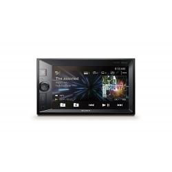 Sony XAV V631BT 2DIN Autoradio 15,74 cm écran, NFC - Dual Bluetooth - Songpal - 4 x 55 W - Eclairage Extra Bass Noir/Multicolore