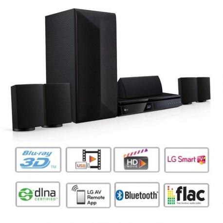 LG LHB625 Home Cinéma Blu-ray 3D 1000W Bluetooth