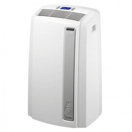 DELONGHI PAC AN112 SILENT Climatiseur mobile Air/Air - 2900 watts - 11000 Btu - Classe A+ - Télécommande - Débit : 350 m3/h 8...