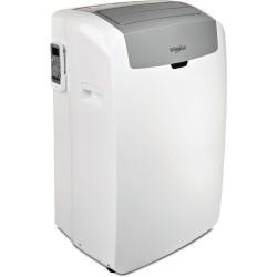 Climatiseur Whirlpool PACW29HP - Réversible - 9000 BTU/H - Puissance de refroidissement : 3000 W - Puissance de chauffage 2500 W