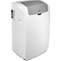 Climatiseur Whirlpool PACW29HP - Réversible - 9000 BTU/H - Puissance de refroidissement : 3000 W - Puissance de chauffage 250...