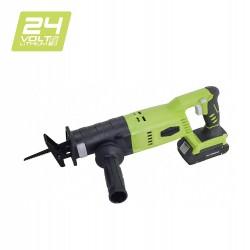 Greenworks Scie sabre sans fil sur batterie 24V Lithium-ion (livré avec batterie et chargeur)