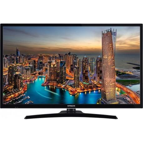 """HITACHI Téléviseurs Hitachi 32HE2000 - Classe 32"""" TV LED - Smart TV - Ecran 81,3 cm / 32 pouces - 720p 1366 x 768 - D-LED Bac..."""
