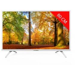Thomson 32HD3341W - TV LED - 81 cm / 32 pouces - Rétroéclairage HD - Blanc
