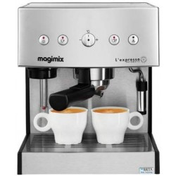 Magimix Cafetières Magimix 11414 AUTOMATIC CHROME MAT + Filtre à eau Brita - 19 bars 3519280114149