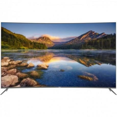 HAIER LE55Q6500U  TV LED 4K UHD incurve 140 cm (55 ) - HDR - Smart TV - 3 x HDMI - Classe nergtiq