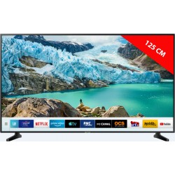 SAMSUNG UE50NU7025 - TV LED 4K 125 cm - HDR Smart TV - TV Connectée - Wi-Fi - DLNA • AirPlay 2 - Processeur Quad-Core