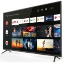 TCL 65EP640 - TV 165cm - TV 4K - TV LED HDR - Smart TV - Android TV intégre - Wi-Fi - Google Assistant