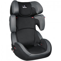 RENOLUX Stepfix 23 Smart Siege Auto - Groupe 2/3 - Total Black