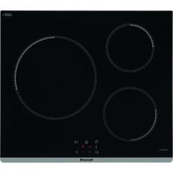 BRANDT TI364B - Plaque de cuisson induction - 3 zones - 7200 W - L60 cm - Noir