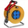 Brennenstuhl Enrouleur de câble Kid Pro 15m (IP44, Cablepilot), Fabrication Française