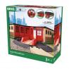 Brio World Grande Gare de Triage - Accessoire pour circuit de train en bois - Ravensburger - Mixte des 3 ans - 33736