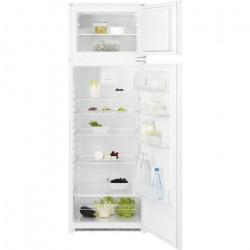 ELECTROLUX KTB2DE16S - Réfrigérateur congélateur haut encastrable - 259L (209L+50L) - Froid Brassé - L55 x H164cm - Blanc