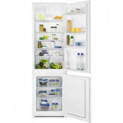 FAURE FNFN18FS1 - Réfrigérateur congélateur bas encastrable - 267L (195+72) - Froid Brassé Statique - L 56cm x H 178cm - Fix