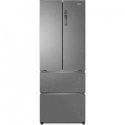 HAIER HB16FMAA - Réfrigérateur Multiportes 424L (303+121) - Froid ventilé - L 70x H190 cm - Inox