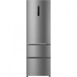 HAIER R3DF512DHJ - Réfrigérateur multi-portes - 330L (233+97) - Froid ventilé - L59.5 x H190,5 cm - Silver