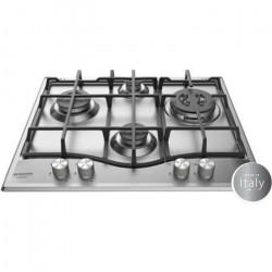 HOTPOINT PNN 641 IX Plaque de cuisson Gaz - 4 foyers - 8850 W - L 60 x P51 cm - Revetement Inox
